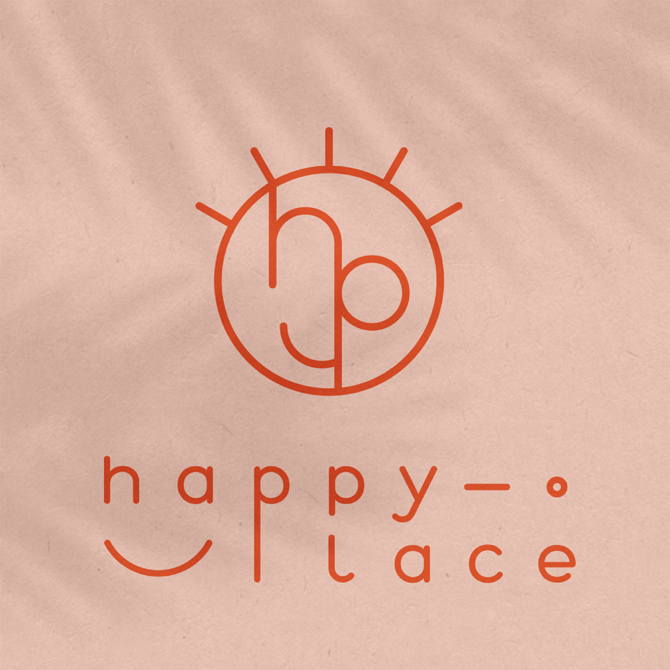 happy place identité visuelle